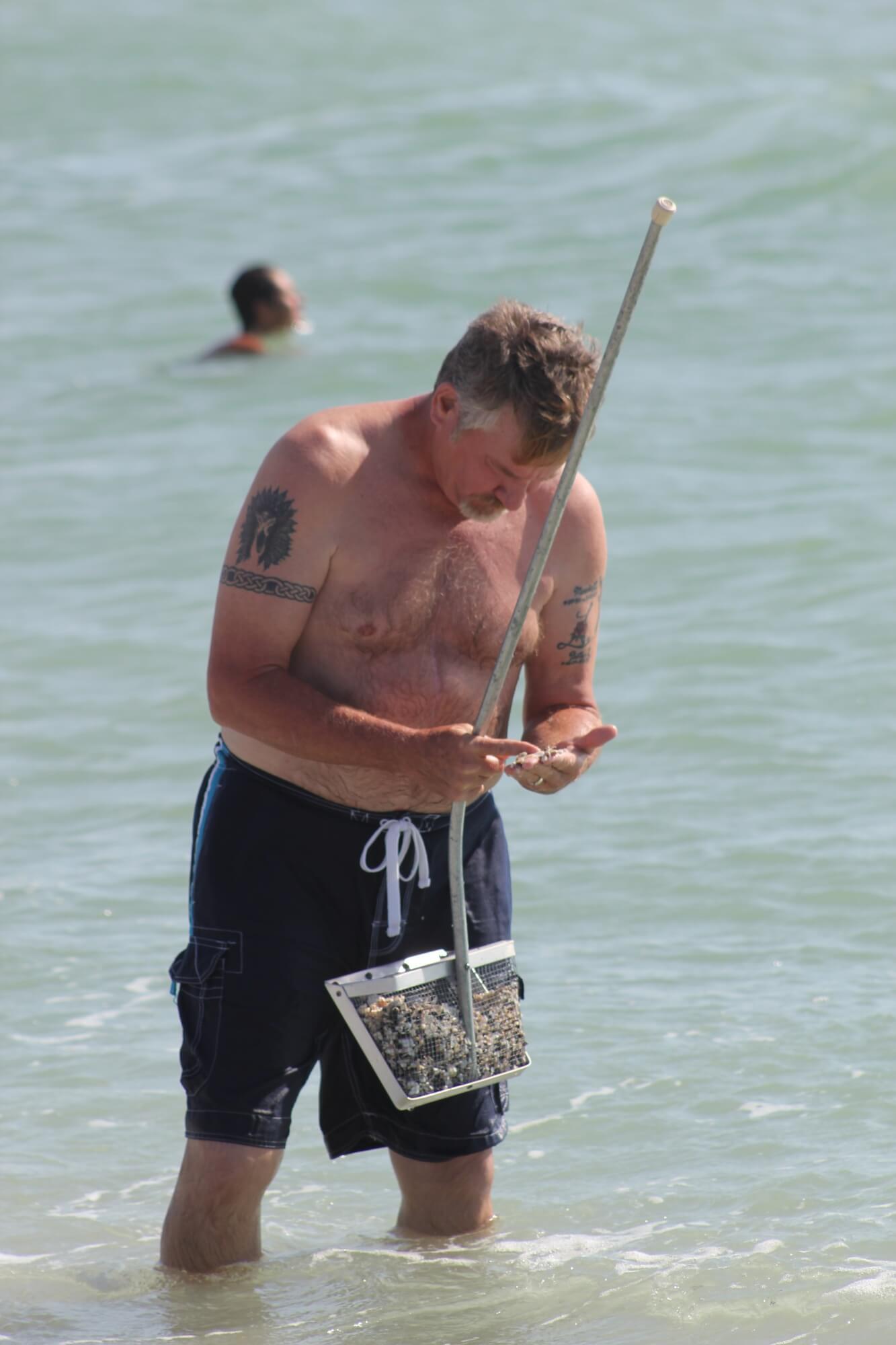 MustDo.com | Caspersen Beach Venice Florida Sharks tooth hunting.