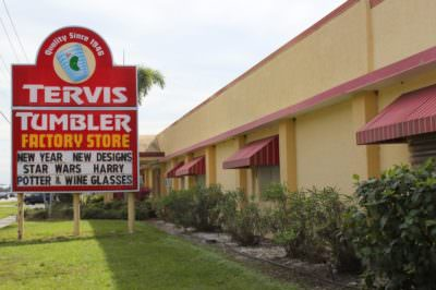 Tervis Tumbler Factory Store Osprey, Florida.