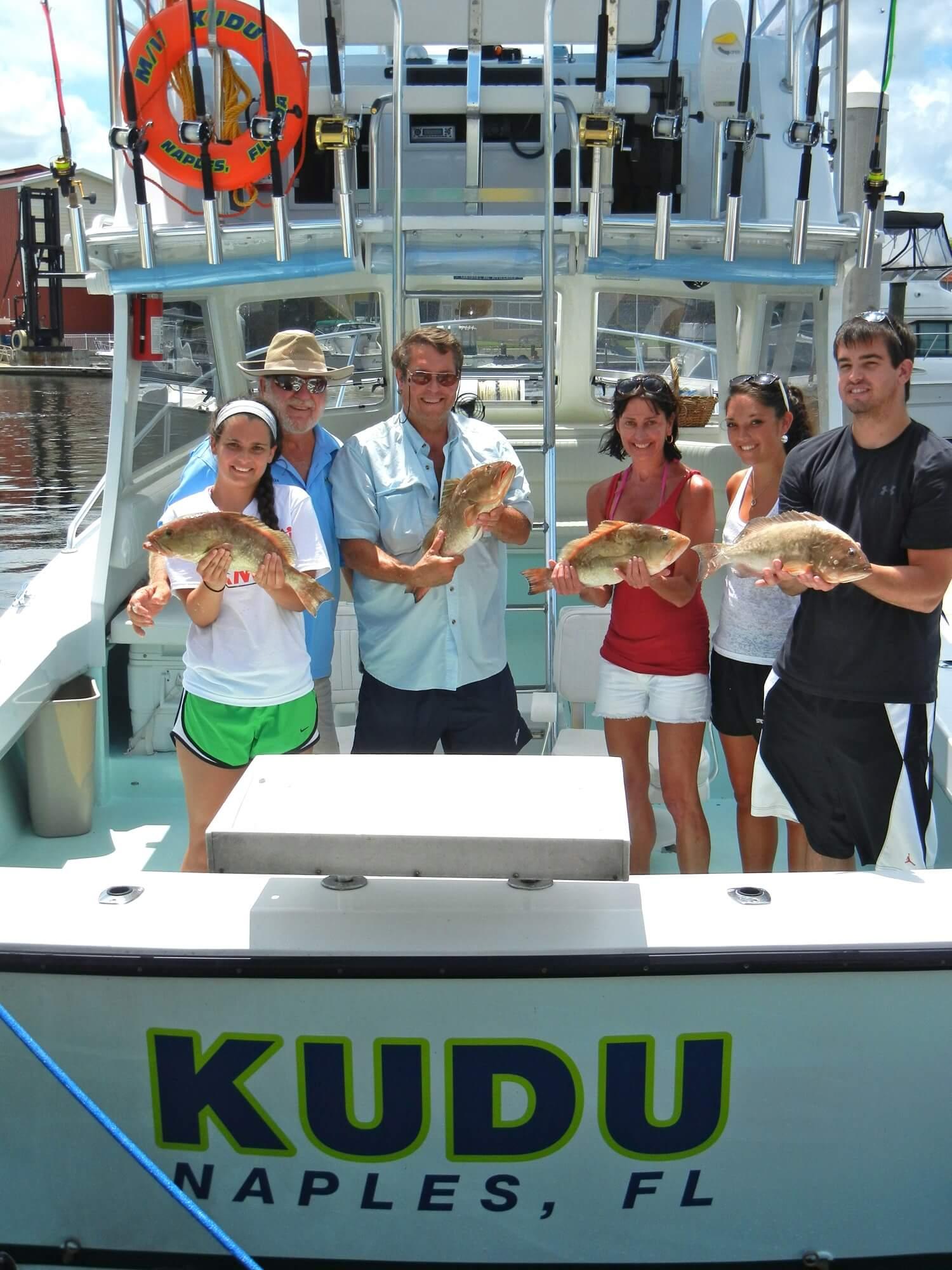MustDo.com | Pure Florida fishing charter aboard Kudu Naples, Florida