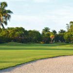 MustDo.com | Hole No. 9 fairway and green Sanibel Island Golf Club on Sanibel Island, Florida.