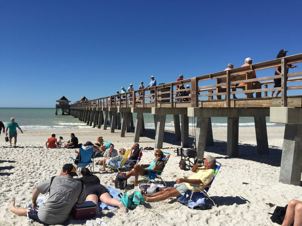 The historic naples pier must do visitor guides for Do you need a fishing license on a pier