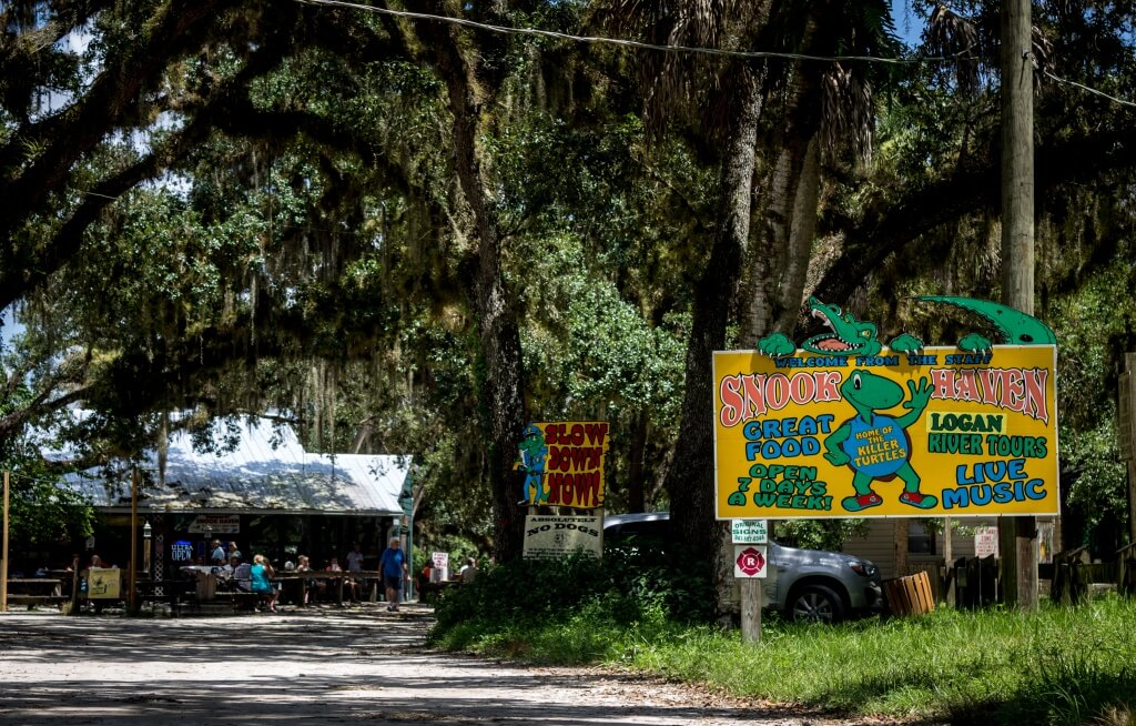 MustDo.com | Snook Haven rustic natural park covers just 2.5 acres, but it packs in plenty of outdoor activities, food and live entertainment to draw plenty of visitors.
