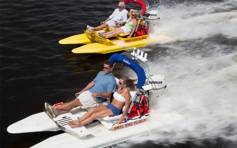 MustDo.com | Drive your own boat to explore the 10,000 Islands with Backwater Adventure tours Marco Island, Florida