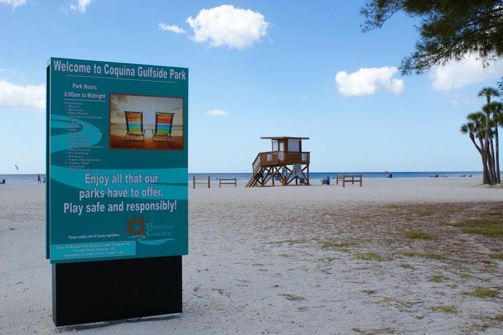 MustDo.com | Coquina Gulfside Park and Beach Anna Maria Island, Florida