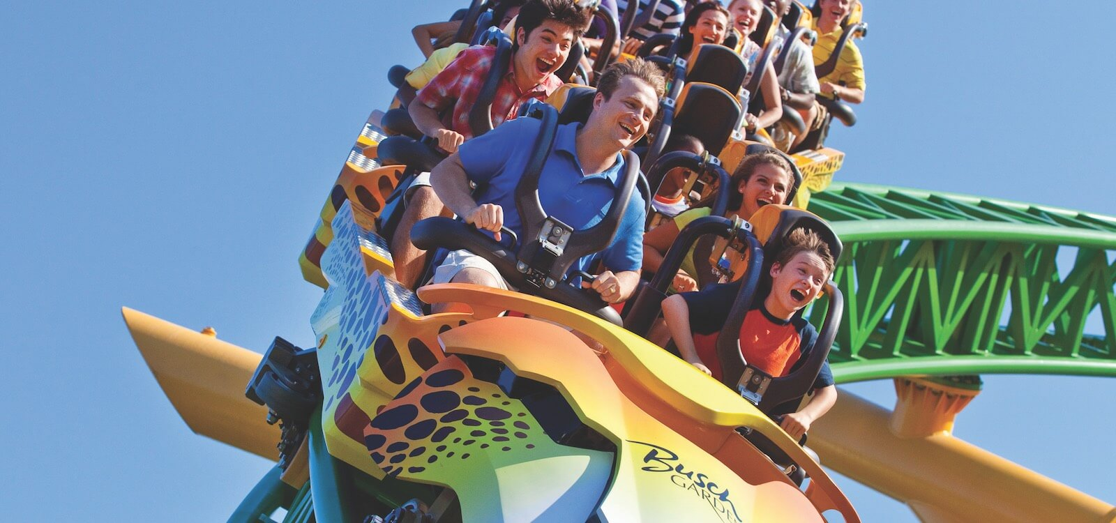 MustDo.com | A day trip from Sarasota, Florida to Busch Gardens Tampa Bay is fun for the entire family.