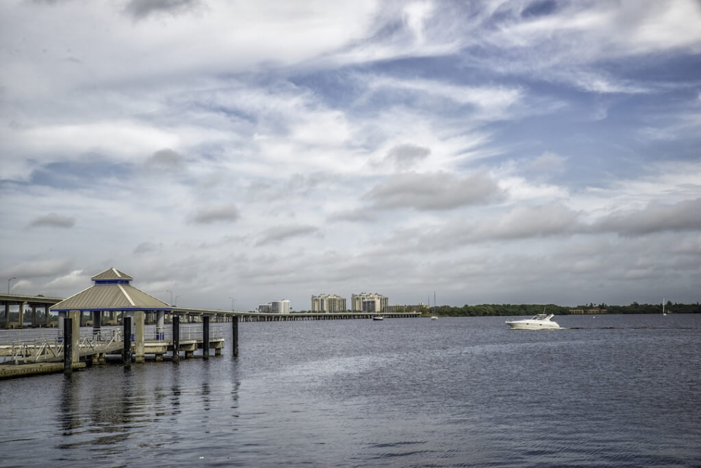 MustDo.com | Caloosahatchee River downtown Fort Myers River District Fort Myers, Florida. Photo by Jennifer Brinkman