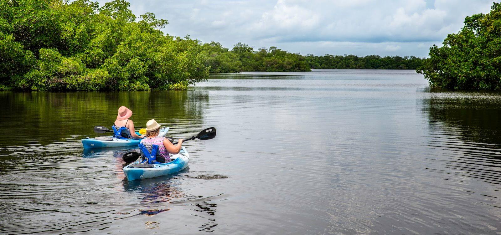 MustDo.com | Sanibel Island, Florida kayak tours. Photo by Jennifer Brinkman.