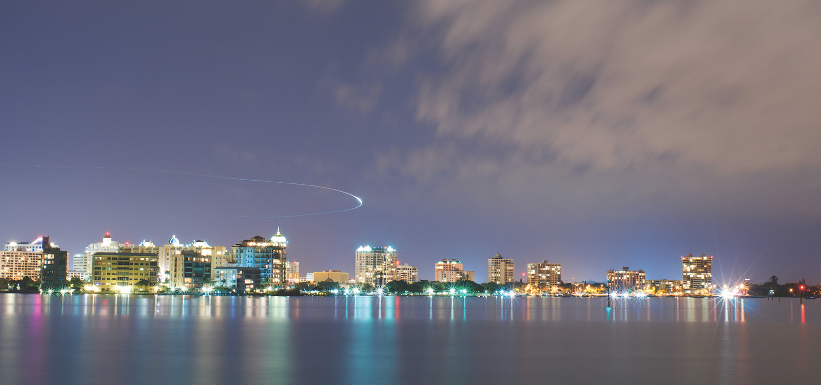 MustDo.com | Downtown Sarasota skyline. Must Do Visitor Guides offers the top 10 bars and nightlife hot spots to visit while on vacation in Sarasota, Florida.