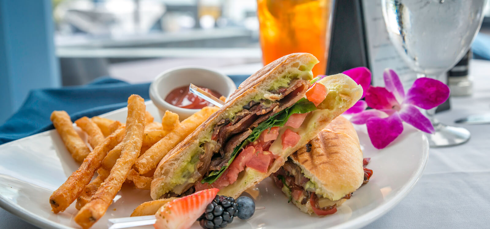Mustdo Cuban Sandwich From Ophelia S On The Bay Sunday Brunch Waterfront Restaurant