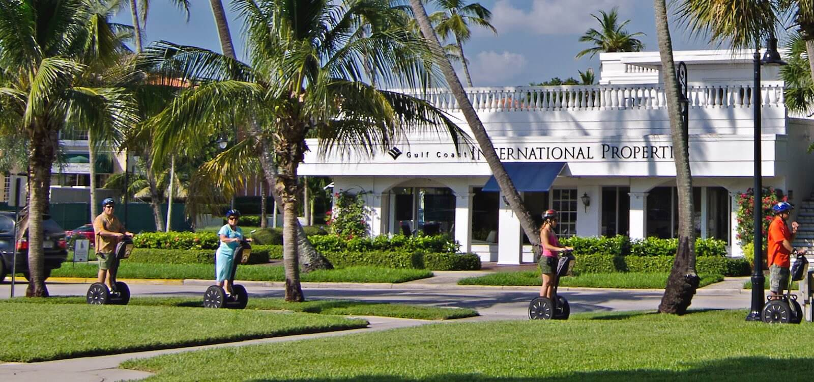 MustDo.com | Must Do Visitor Guides Naples, Florida Segway sightseeing tour. Photo by Jennifer Brinkman.