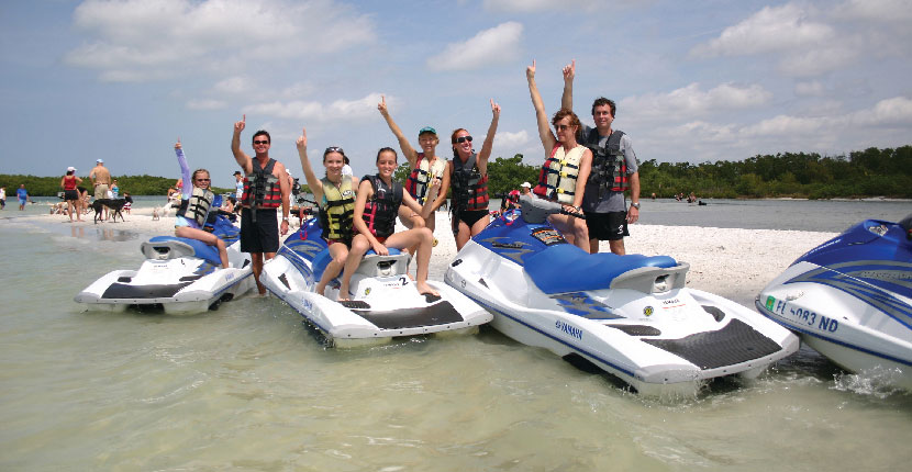 MustDo.com | Holiday Water Sports located on Fort Myers Beach, Florida offers a variety of fun water sport activities including boat, WaveRunner, kayak, and stand-up paddleboard rentals and tours.