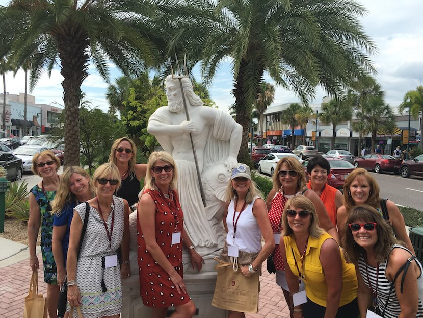 MustDo.com | Join one of Key Culinary Tours' guided tours around St. Armands Circle and enjoy food and drink samples as you learn about the area's history, art, and restaurant scene.