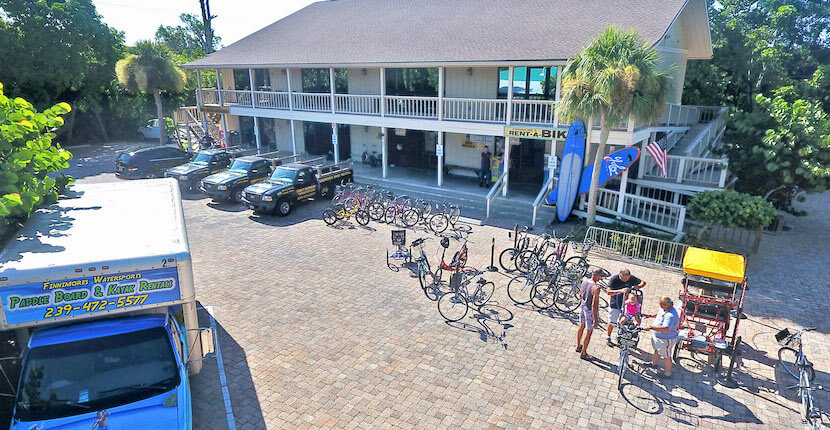 Finnimore's Cycle Shop Bike and Beach gear rentals on Sanibel Island, Florida. #bike #sanibel #vacation #florida