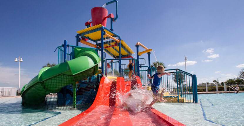 Ave Maria Water Park, kids activities water slides, swimming pools and more Ave Maria, Florida.
