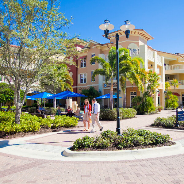 MustDo.tom | Ave Maria town center shops and restaurants in Ave Maria, Florida.