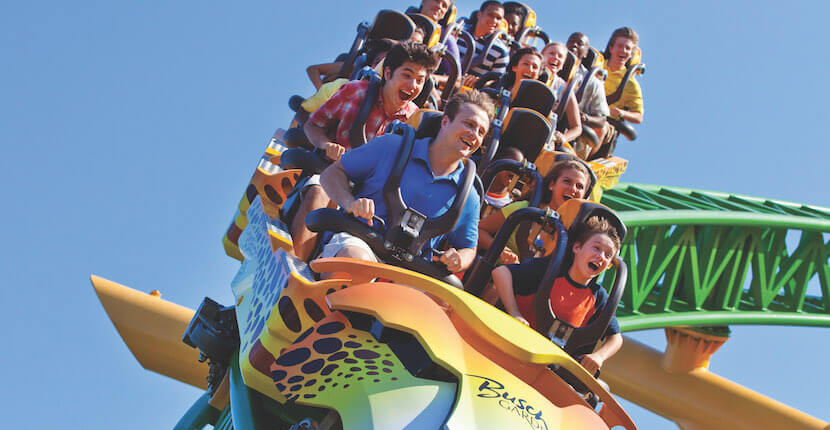 Spend a fun-filled day for the entire family with a day trip to Busch Gardens Tampa Bay. Go on thrilling amusement park rides, visit a world-class zoo featuring more than 12,000 animals, see live shows, enjoy a variety of restaurants, and more! Must Do Visitor Guides, MustDo.com