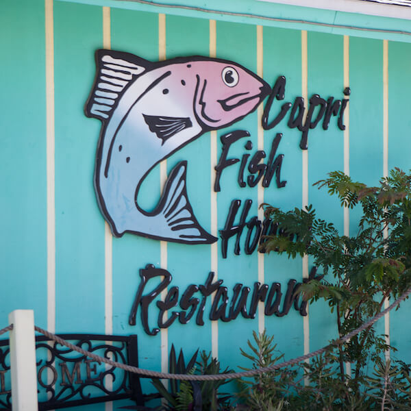 MustDo.com | Capri Fish House, Experience Old Florida charm in a casual waterfront setting on the shores of Johnson Bay at Isles of Capri just minutes from Marco Island. Photo by Mary Carol Fitzgerald.
