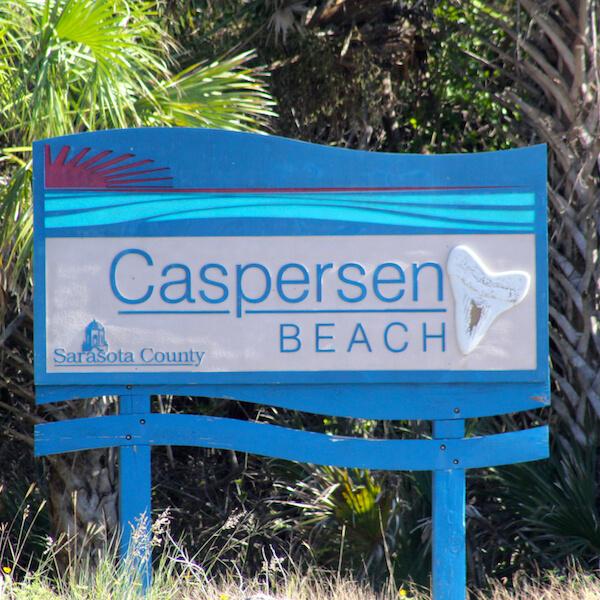 Caspersen Beach Venice, Florida USA. Photo by Nita Ettinger Must Do Visitor Guides, MustDo.com