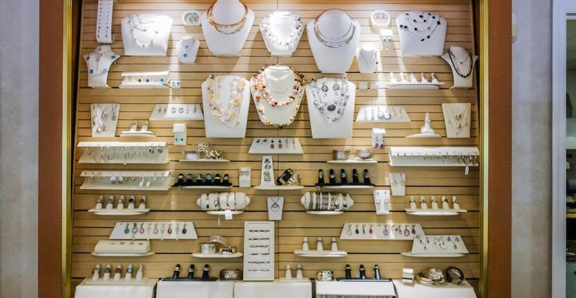 Cedar Chest Fine Jewelry store on Sanibel features an exclusive selection of unique and original sea life and nature-themed jewelry. Photo by Mary Carol Fitzgerald.