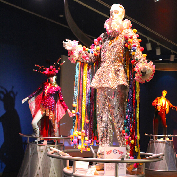 Ringling Circus Museum clown costume exhibit Sarasota, Florida attractions. Must Do Visitor Guides, MustDo.com