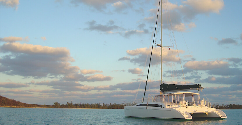 MustDo.com | Take a leisurely three-hour cruise aboard Cool Beans sailing catamaran in Naples and Marco Island, Florida.