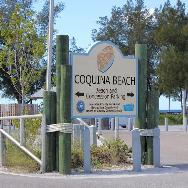 Coquina Beach Directions Additional