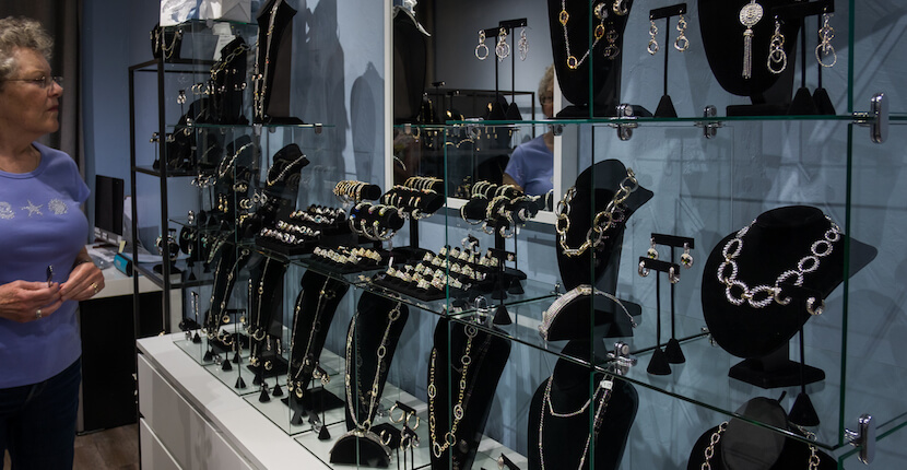 Quality Designer Inspired Jewelry, DanaTyler offers a dazzling selection of high-quality designer inspired fashion and costume jewelry featuring high-end cubic zirconia, rhodium, and 14kt gold plated collections. Choose from earrings, bracelets, necklaces, and rings at a fraction of the designer cost. Photo by Mary Carol Fitzgerald. MustDo.com