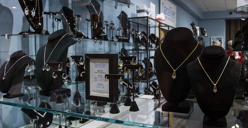 Quality Designer Inspired Jewelry, DanaTyler offers a dazzling selection of high-quality designer inspired fashion and costume jewelry featuring high-end cubic zirconia, rhodium, and 14kt gold plated collections. Choose from earrings, bracelets, necklaces, and rings at a fraction of the designer cost. Photo by Mary Carol Fitzgerald. Must Do Visitor Guides, MustDo.com