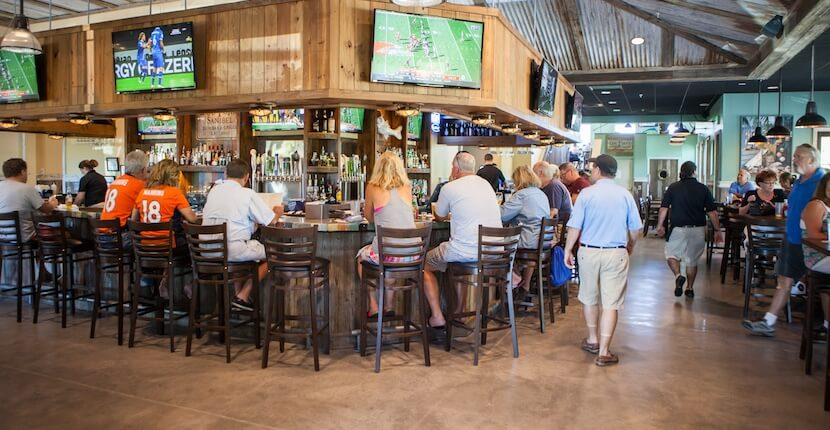 "Doc Ford's Rum Bar & Grille restaurant on Sanibel, Captiva, and Fort Myers Beach is a local favorite that combines fantastic award-winning food with a fun atmosphere inspired by best-selling author Randy Wayne White's character, Marion ""Doc"" Ford, an adventurer, biologist and ex-government agent. Photo by Mary Carol Fitzgerald. MustDo.com"