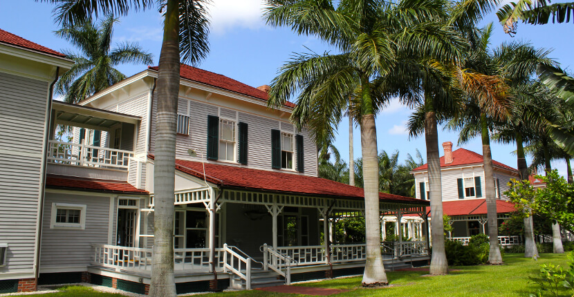 MustDo.com | Tour historic homes, gardens, and museum at Edison & Ford Winter Estates Fort Myers, Florida USA. Must Do Visitor Guides.