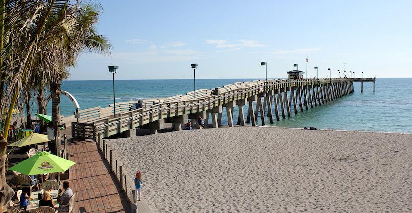 Venice Pier Gulf of Mexico beach Venice, Florida. Must Do Visitor Guides | MustDo.com