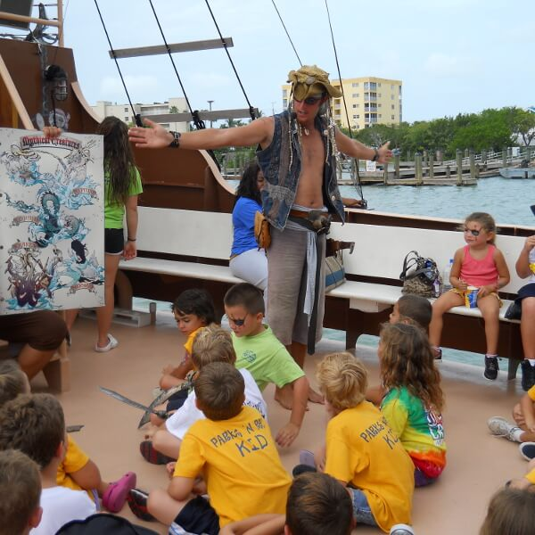 Family Fun Salty Sams Pirate Cruise Fort Myers