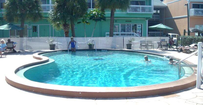 Fishermen's Village Resort Swimming Pool Punta Gorda, Florida