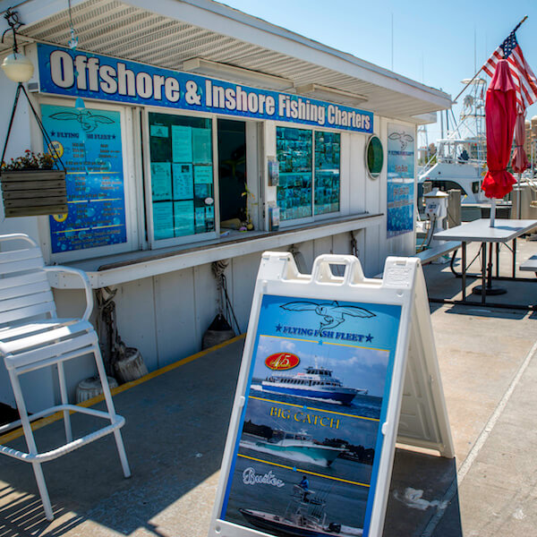 Must Do Visitor Guides, MustDo.com Flying Fish Fleet Daily half to full day, family-friendly inshore and offshore private and party boat fishing trips suitable for novice to seasoned anglers of all ages. Sarasota, Florida. Photo by Jennifer Brinkman.