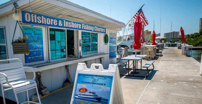 Must Do Visitor Guides, MustDo.com. Flying Fish Fleet Daily half to full day, family-friendly inshore and offshore private and party boat fishing trips suitable for novice to seasoned anglers of all ages. Sarasota, Florida. Photo by Jennifer Brinkman.