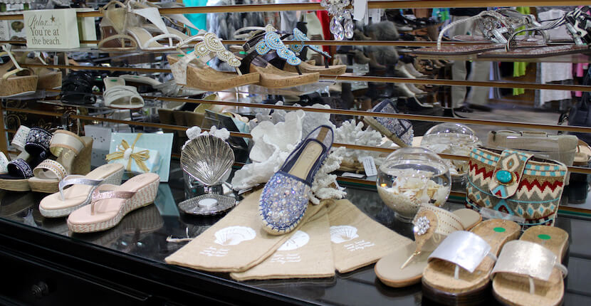 Foxy Lady boutiques have been providing generations of trendsetting designer women's fashions Siesta Key, St. Armands Circle in Sarasota, Florida. Must Do Visitor Guides, MustDo.com.