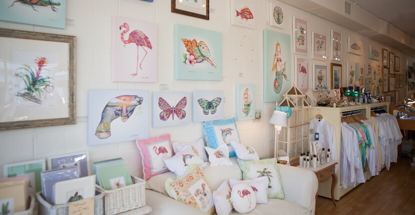 MustDo.com | Nora Butler Gallery and Gifts Crayton Cove shopping in Naples Florida. Photo by Mary Carol Fitzgerald.