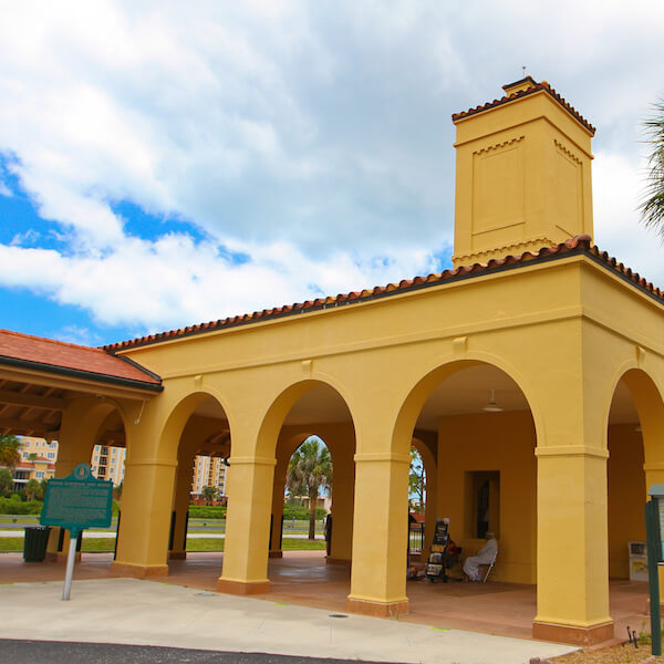 Tour the Historic Venice Train Depot in Venice, Florida. Must Do Visitor Guides, MustDo.com