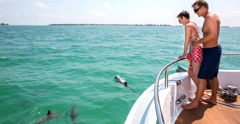 MustDo.com | Image Yacht Charters Fort Myers, Florida half and full day luxury boat cruises and charters. Must Do Visitor Guides Southwest Florida vacation information.