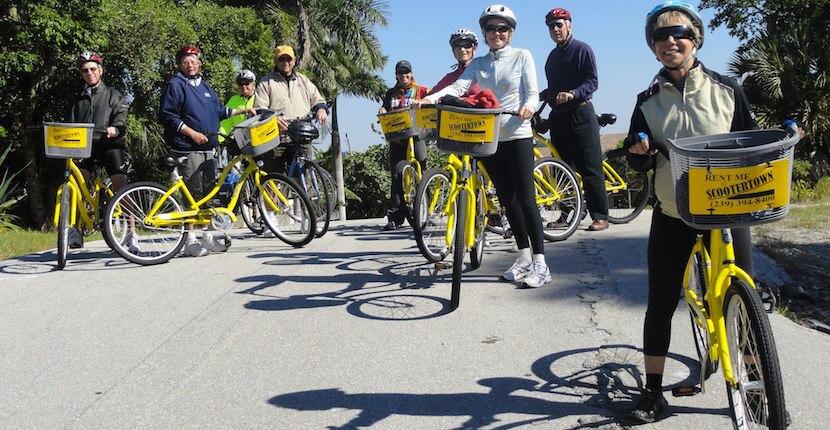 MustDo.com | Island Bike Shop bike rentals and tours Marco Island, Florida.
