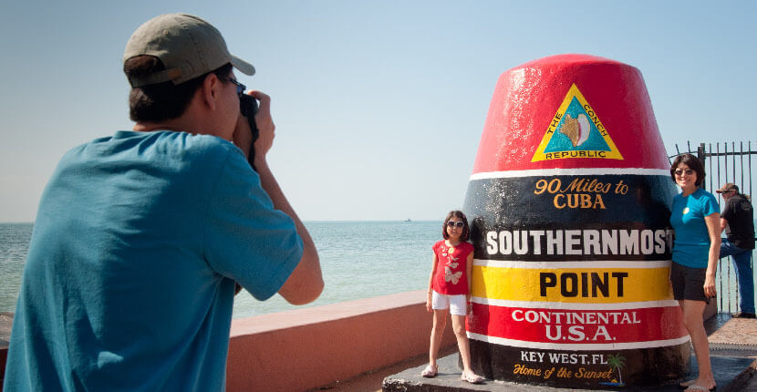 MustDo.com | Visit the Southernmost point of the United States in Key West, Florida.