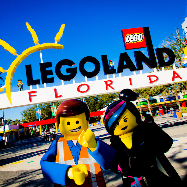 LEGOLAND Florida See LEGO come to life amidst more than 50 rides, shows and attractions and special movie-themed fun all geared for families with children ages 2 to 12. (PHOTO / LEGOLAND Florida, Merlin Entertainments Group, Chip Litherland). Must Do Visitor Guides, MustDo.com