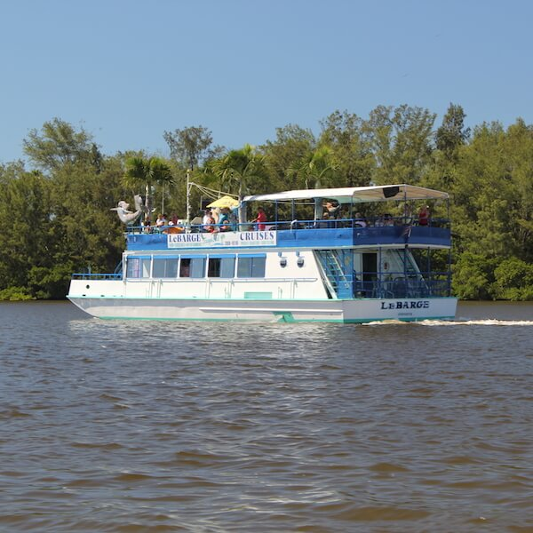 Lebarge Tropical Cruises. Relax and enjoy an educational and fun Sightseeing and Nature Cruise. Discover Sarasota's history, see local wildlife and spectacular waterfront homes on this two-hour narrated tour. Must Do Visitor Guides, MustDo.com