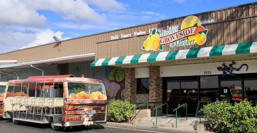 Mixon Fruit Farms fresh Florida citrus, tropical gardens, wedding venue, family activities, cafe, and wildlife education center Bradenton, Florida. Photo by Nita Ettinger. Must Do Visitor Guides, MustDo.com. #Sarasota #Attractions #kidsactivities #familyfun #florida #vacation #oranges #citrus