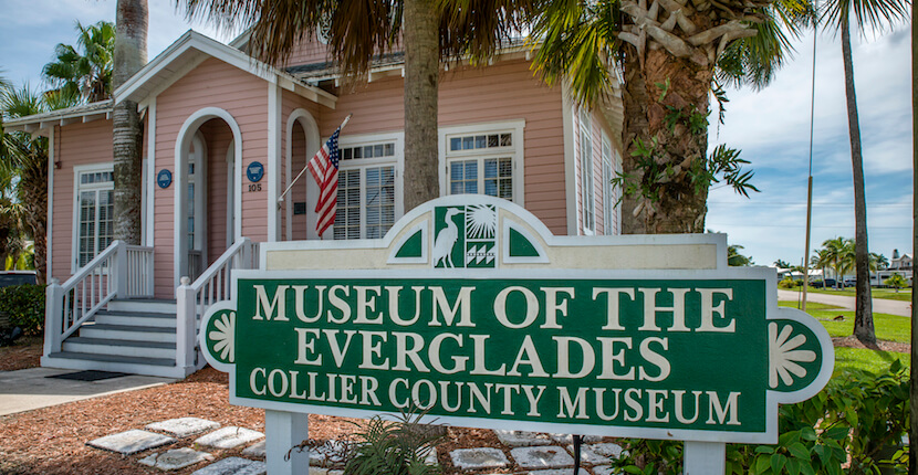 MustDo.com | Collier County's Museum of the Everglades in Everglades City, Florida. Photo by Jennifer Brinkman. Must Do Visitor Guides Florida vacation information.