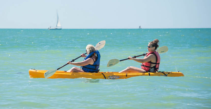 MustDo.com | Naples Beach Water Sports kayaking rentals Naples, Florida, USA. Must Do Visitor Guides Florida vacation information.