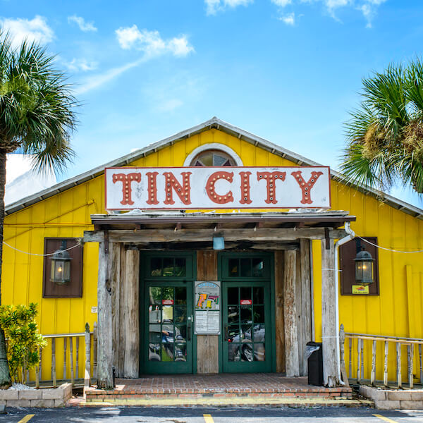 MustDo.com | Explore the shops, restaurants, and attractions at Tin City on Naples, Florida's waterfront. Photo by Jennifer Brinkman.