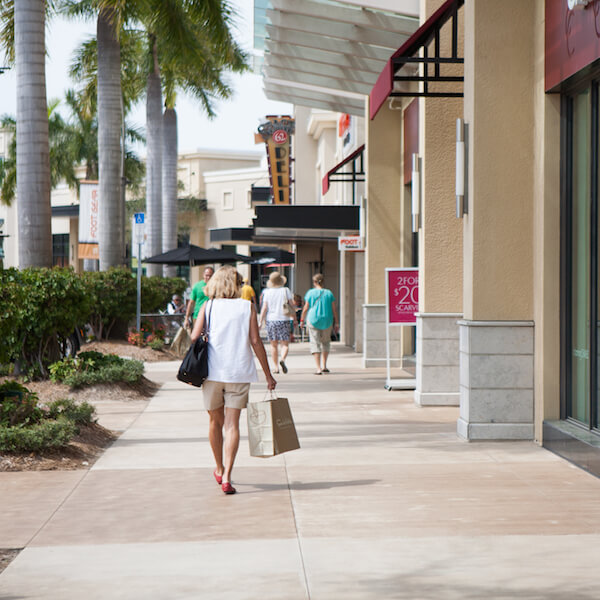 MustDo.com | Shopping and dining at Mercato Shops in Naples, Florida. Photo by Mary Carol Fitzgerald.