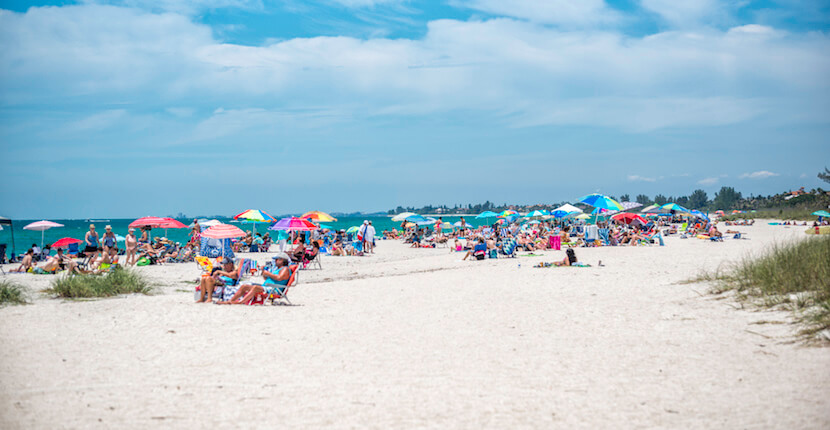 Nokomis Beach Is Sarasota Counties Oldest Public And Well Liked By Families