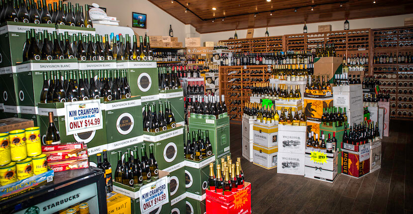 MustDo.com | Shop a large selection of wines at Oakes Farms Market Naples, Florida. Photo by Jennifer Brinkman.